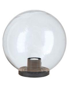 SFERA PER LAMPIONE CM.25 E27 TRASPARENTE